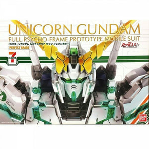 Gundam 1/60 PG Unicorn Gundam LUMINOUS CLEAR Seven Eleven RX-0 Model Kit 1