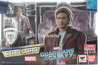 S.H. Figuarts Star Lord (Star-Lord) & Explosion Guardians Of The Galaxy Vol. 2 Action Figure