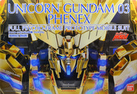 Gundam 1/60 PG Gundam Unicorn RX-0 Unicorn Gundam 03 Phenex Model Kit Exclusive