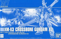 Gundam 1/144 HGUC Crossbone Gundam X-3 Model Kit Exclusive