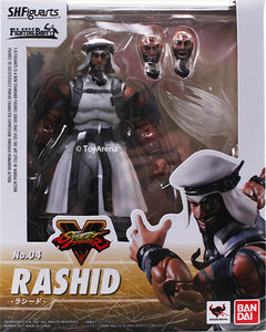 S.H. Figuarts Street Fighter V (5) Rashid Action Figure
