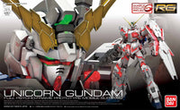Gundam 1/144 RG #25 Unicorn Gundam RX-0 Full Psycho Frame Model Kit