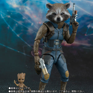 S.H. Figuarts Rocket & Baby Groot Guardians Of The Galaxy Vol. 2 Action Figure 1