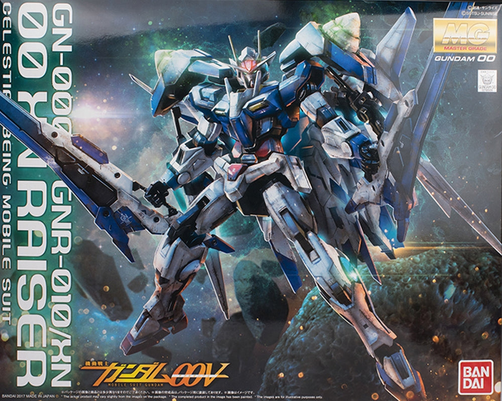 Gundam 1/100 MG Gundam 00 OO XN Raiser Model Kit Exclusive