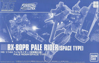Gundam 1/144 Gundam Mobile Suit Gundam Side Story Mising Link RX-80PR Pale Rider Space Type Model Kit Exclusive