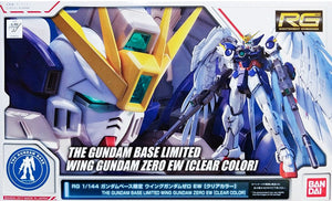 Gundam 1/144 RG Wing Gundam Zero EW Clear Color The Gundam Base Limited Model Kit Exclusive