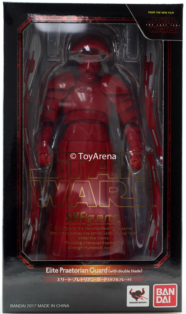 S.H. Figuarts Elite Praetorian Guard with Double Blade (The Last Jedi) Star Wars Episode VIII