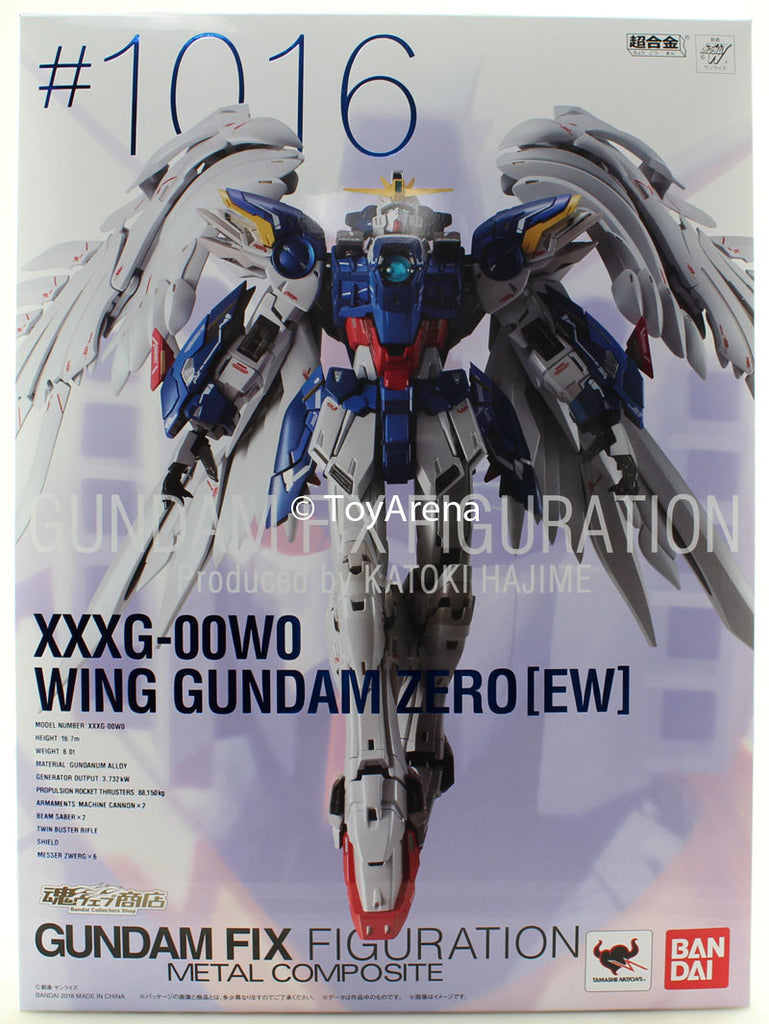 Gundam Fix Figuration Metal Composite XXXG-00W0 Wing Gundam Zero EW #1016 Action Figure