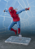 S.H. Figuarts Spider Man Home Made Suit Ver. Spiderman: Homecoming & Tamashii ACT Wall Action Figure