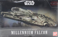 Star Wars 1/144 Scale Millenium Falcon Star Wars Ep VIII The Last Jedi Model Kit