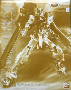 Gundam 1/100 MG Gundam Seed Astray Gundam Astray Gold Frame (Special Coating) Model Kit Exclusive