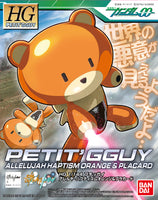 Gundam HG Petit'Gguy 00 Allelujah Haptism Orange & Placard HGPG Model Kit