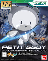 Gundam HG Petit'Gguy 00 Graham Aker White HGPG Model Kit