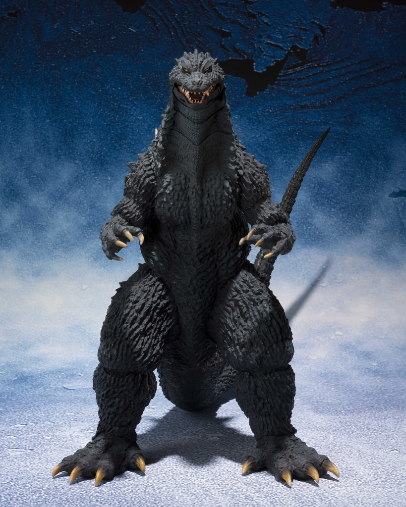 S.H. MonsterArts Godzilla 2002 Godzilla Against Mechagodzilla Action Figure