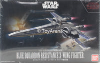Star Wars 1/72 Scale Blue Squadron Resistance X-Wing Fighter Star Wars Episode VIII The Last Jedi Model Kit