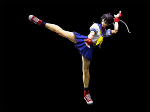 S.H. Figuarts Street Fighter V (5) Sakura Kasugano Action Figure 1