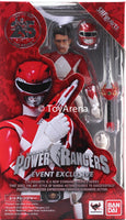 Tamashii Nation SDCC 2018 S.H. Figuarts Red Power Rangers Original Jason