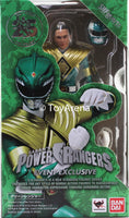 Tamashii Nation SDCC 2018 S.H. Figuarts Green Power Rangers Original Tommy