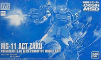 Gundam 1/144 HG The Origin MS-11 Act Zaku Model Kit Bandai Exclusive