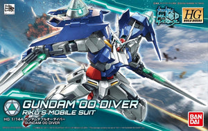 Gundam 1/144 HGBD #000 Gundam Build Divers Gundam 00 Diver Model Kit