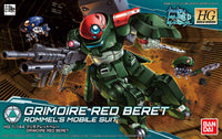 Gundam 1/144 HGBD #003 Gundam Build Divers Grimoire Red Beret Model Kit