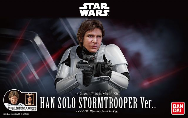 Star Wars 1/12 Scale Han Solo Stormtrooper Disguise Model Kit