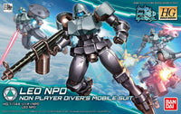 Gundam 1/144 HGBD #008 Gundam Build Divers Leo NPD Model Kit