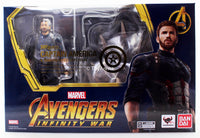 S.H. Figuarts Captain America Avengers Infinity Wars and Tamashii Explosion Effect
