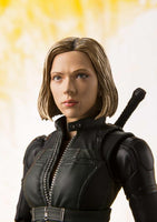 S.H. Figuarts Black Widow Avengers Infinity Wars and Tamashii Explosion Effect