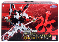 Gundam 1/60 PG Gundam Seed VS Astray MBF-P02KAI Gundam Astray Red Frame Kai Model Kit Exclusive
