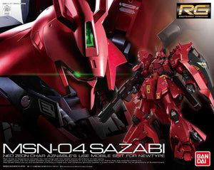 Gundam 1/144 RG #29 Char's Counterattack MSN-04 Sazabi Model Kit