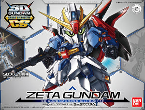SD Gundam Cross Silhouette SDCS #05 Zeta Gundam Model Kit