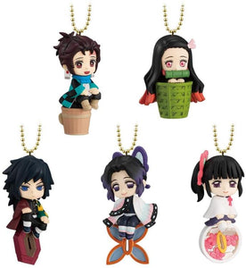 Bandai Spirits Twinkie Dolly Demon Slayer Vol. 2 Box of 8 Trading Figures