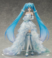 FREEing! 1/7 Vocaloid Hatsune Miku Wedding Dress Ver. Scale Statue Figure