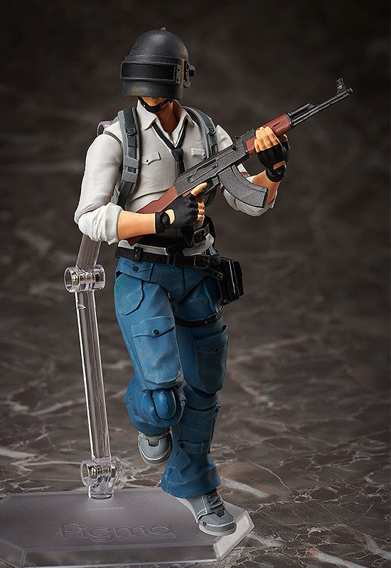 Figma #SP-118 The Lone Survivor PlayerUnknown's Battlegrounds Action Figure 1