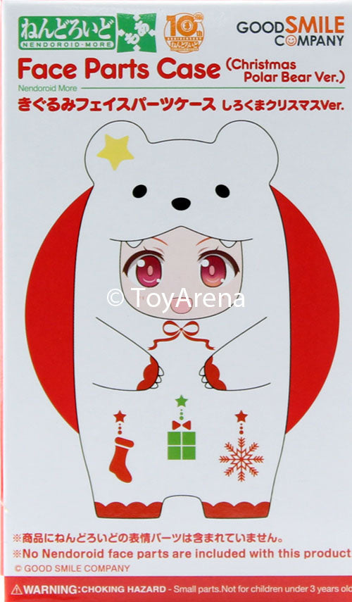 Nendoroid More Face Parts Case Christmas Polar Bear Ver.