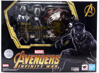 S.H. Figuarts Black Panther & Tamashii Effect Rock Avengers: Infinity War Action Figure