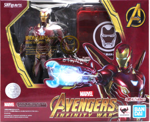 S.H. Figuarts Iron Man Mark L (50) Nano Weapon Set Avengers Infinity War Action Figure