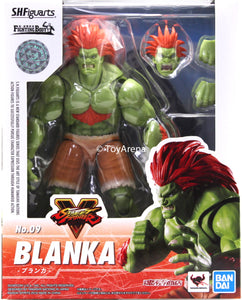 S.H. Figuarts Street Fighter V (5) Blanka Action Figure