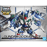 SD Gundam Cross Silhouette SDCS #06 Gundam 00 Diver Ace Model Kit