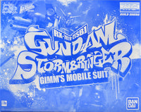 Gundam 1/100 MG Build Diver GBWC Gundam Stormbringer Model Kit Exclusive