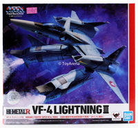 Hi-Metal R VF-4G Lightning III The Super Dimension Fortress Macross Flash Back 2012 Die Cast Action Figure
