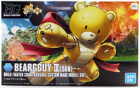 Gundam 1/144 HGBF #005 Gundam Build Fighters Beargguy III San China Kousaka Custom Made Mobile Suit 1/144 Model Kit