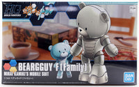 Gundam Build Fighters Try HGBF #022 Beargguy F (Family) Mirai Kamiki Custom Made Mobile Suit 1/144 Model Kit