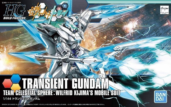 Gundam Build Fighters Try HGBF #034 Transient Gundam 1/144 Model Kit