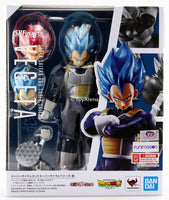 S.H. Figuarts Dragon Ball Super Broly Super Saiyan God Super Saiyan Vegeta Action Figure