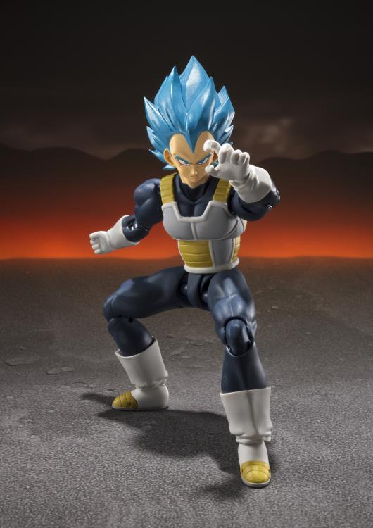 S.H. Figuarts Dragon Ball Super Broly Super Saiyan God Super Saiyan Vegeta Action Figure (Japan Ver)