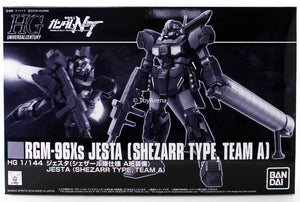 Gundam 1/144 HGUC Gundam Unicorn RGM-96Xs Jesta Shezarr Type, Team A Model Kit Exclusive