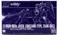Gundam 1/144 HGUC Gundam Unicorn RGM-96Xs Jesta Shezarr Type, Team B & C Model Kit Exclusive