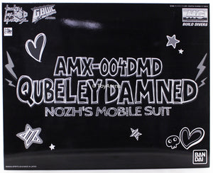 Gundam 1/100 MG Gundam GBWC AMX-004DMD Qubeley Damned Nozh's Mobile Suit Model Kit Exclusive